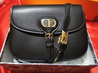 CD Bobby Bag in Black (Top G - Genuine Leather)