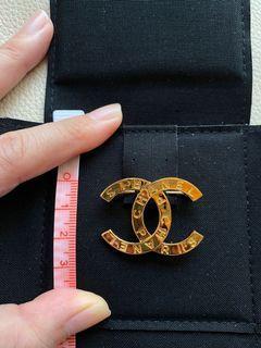 Chanel香奈兒vintage 風格金色胸針brooch