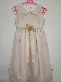 dress pesta off white