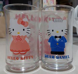 HELLO KITTY 對杯 水杯 馬克杯 玻璃杯 凱蒂貓 丹尼爾 DANIEL