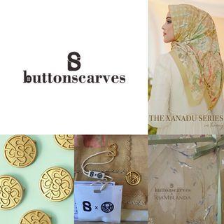 JASTIP READY! The Xanadu Series [HONEY] Buttonscarves x RiaMiranda Reguler - {TOKOPEDIA}