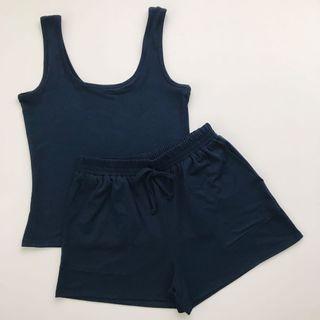 Navy Blue Terno