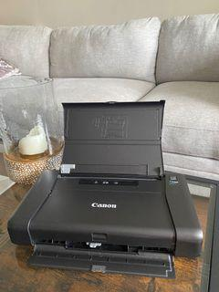 Portable  Wireless Mobile colour Printer Canon PIXMA iP110