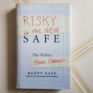 Risky Is The New Safe The Rules Have Changed Randy Gage Book Network Marketing Self Improvement MLM Prospecting Business