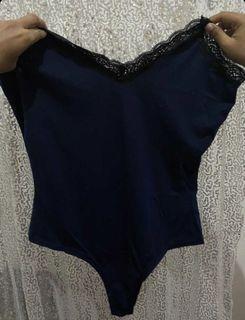 Blue bodysuit