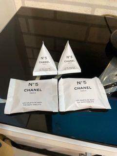 現貨 香奈兒五號工廠 沐浴乳2入+香氛沐浴球2入限量Chanel N°5  5號工廠限定版