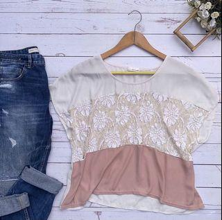 Comfy Laced Blouse ❤️
