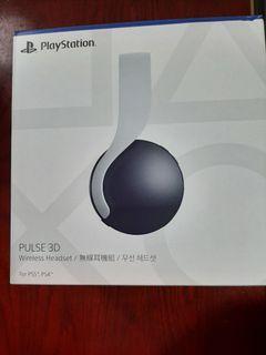 PS5 3D無線耳機