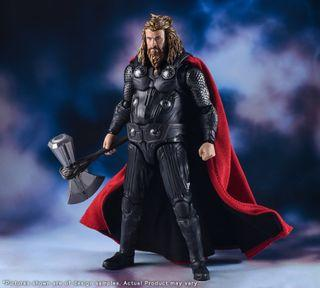 SH Figuarts Endgame Thor not final battle edition