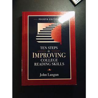 [二手七成新]Ten Steps to Improving College Reading Skills, 4/e