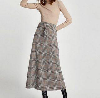 Zara Plaid Skirts (Pamigay)
