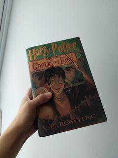 Harry Potter and the Goblet of Fire 哈利波特 第4集 火盃的考驗 (美國版) 精裝版 小說 絕版書