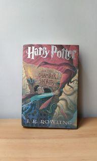 Harry potter and the chamber of secrets 哈利波特 第2集 消失的密室 美國 英文版 精裝 小說