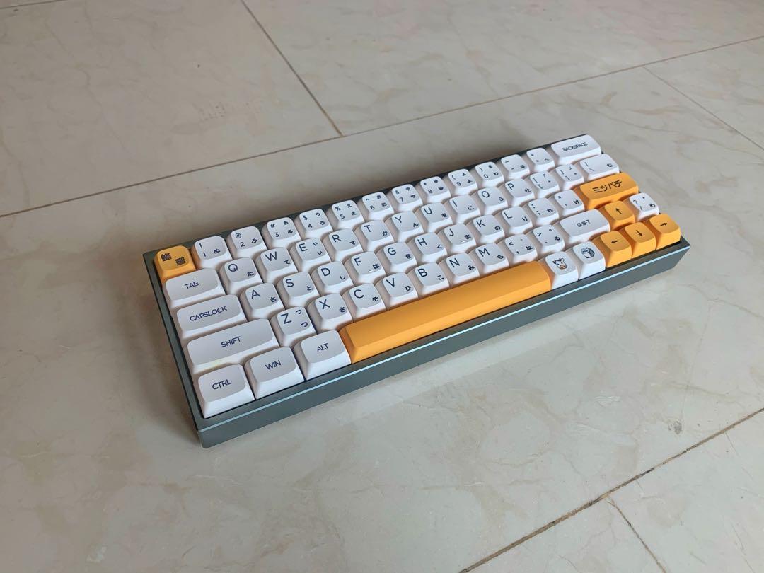 Custom Built 20 Hotswap RGB Mechanical Keyboard, Computers & Tech ...