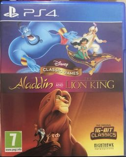 分享:  0 極新 PS4 遊戲片 迪士尼 經典 遊戲 阿拉丁 和 獅子王 英文版 另 超級猴子球 直到黎明 異塵餘生4 真人快打