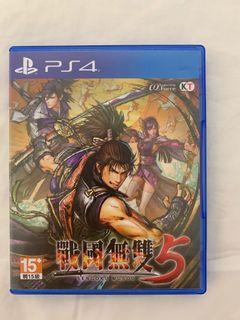 (PS4)戰國無雙5中文版