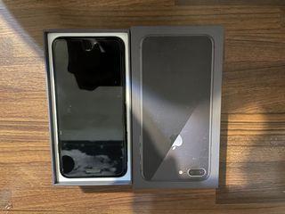 自售非商家 iPhone 8 Plus 64G 太空灰 二手機 含螢幕保護貼+apple正版質感皮殼