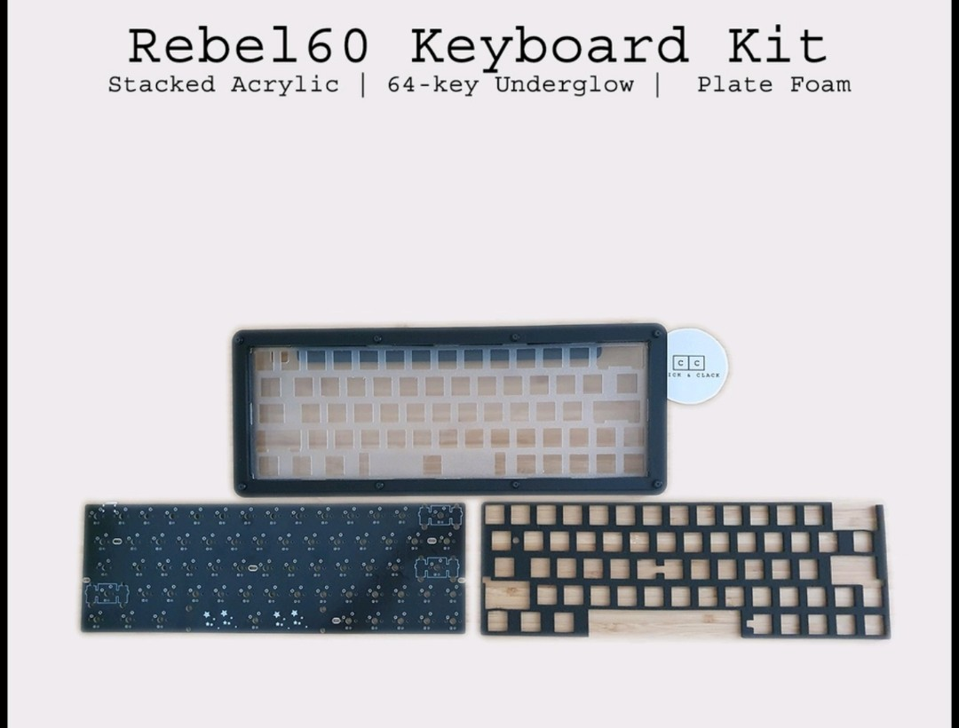 Rebel 20 kit + pcb, Electronics, Computer Parts & Accessories on ...
