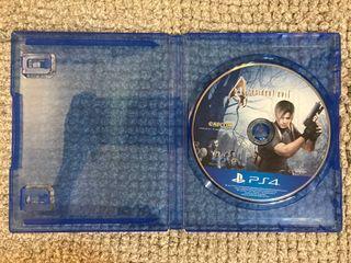 Ps4優質二手遊戲🌟惡靈古堡4🌟光碟無刮傷近全新-中英文版English Version🔺無封面🔻