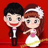 123happywedding
