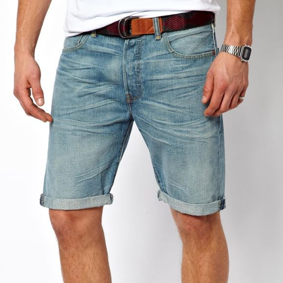476143d4 Levi's 511 Slim Fit Cut Off Shorts, Men's Fashion on Carousell