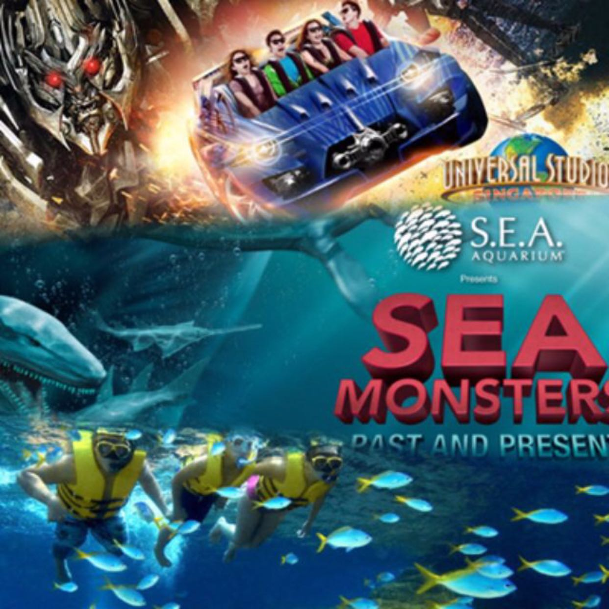 DAILY TICKETS for OdySea Aquarium OdySea Aquarium Tickets Includes access to all OdySea Aquarium exhibits, galleries, OdySea Voyager, and the movie featuring Underwater Giants.
