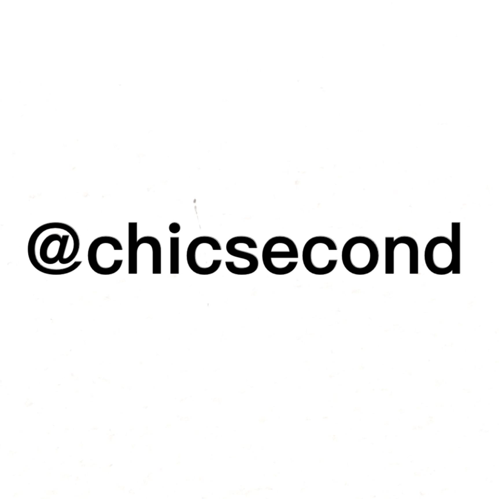 chicsecond
