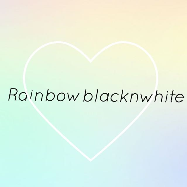 rainbowblacknwhite