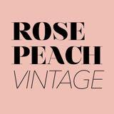 rosepeachvintage