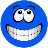 bluefacesmiley