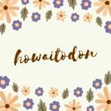 howaitodon