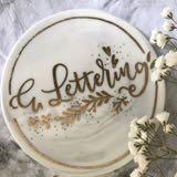 e.lettering