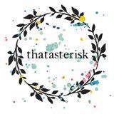 thatasterisk